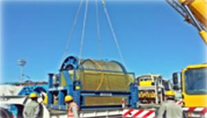 Import cargo processing